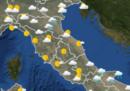 Le previsioni meteo per mercoledì 27 marzo