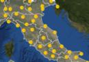 Le previsioni meteo per venerdì 22 marzo