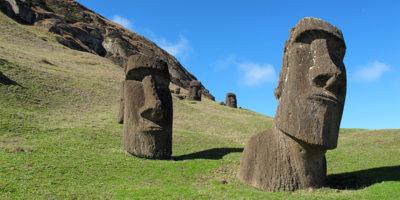 I faccioni dell'Isola di Pasqua hanno grossi problemi