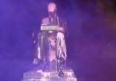 La storia della statua di Indro Montanelli imbrattata a Milano