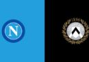 Napoli-Udinese in TV e in streaming