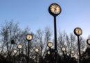 Il cambio dell'ora di stanotte, da ora solare a ora legale