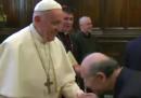 Il Papa voleva solo evitare di diffondere germi
