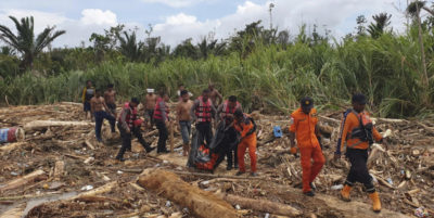 Piogge killer in Indonesia, almeno 50 morti