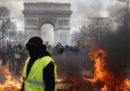 "Le nuove proteste dei ""gilet gialli"" a Parigi"
