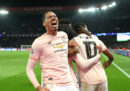 Il Manchester United ha eliminato il Paris Saint-Germain e si è qualificato ai quarti di Champions League