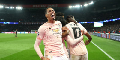 Il Manchester United ha eliminato il Paris Saint-Germain e si è qualificato ai quarti di Champions League