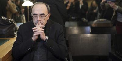 Ticinonline - Abusi: condannato il cardinale Barbarin