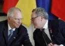 50 parlamentari tedeschi e 50 parlamentari francesi si sono trovati oggi a Parigi per la prima volta in una seduta parlamentare comune