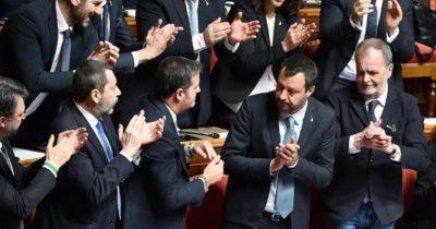 Le foto di oggi al Senato