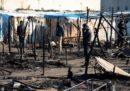 Un migrante è morto in un incendio nella nuova tendopoli di San Ferdinando