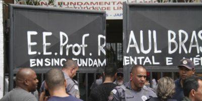 La sparatoria in una scuola in Brasile