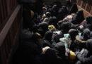 Mercoledì più di 2mila persone hanno lasciato Baghuz, l'ultima città in Siria ancora controllata dall'ISIS