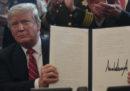 Donald Trump ha usato per la prima volta il suo potere di veto