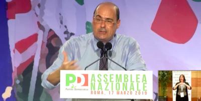 Nicola Zingaretti è stato proclamato ufficialmente segretario nazionale del PD