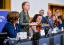 Il video del discorso di Greta Thunberg al Parlamento Europeo