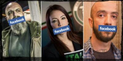 Facebook ha sospeso gli account di tutti i più importanti dirigenti di CasaPound
