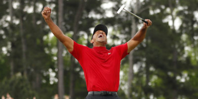 Tiger Woods ha vinto l'Augusta Masters per la quinta volta in carriera