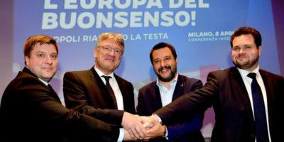 L'alleanza dei sovranisti per le europee