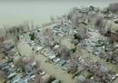 Le alluvioni in Canada
