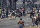 Ci sono violenti scontri in Venezuela
