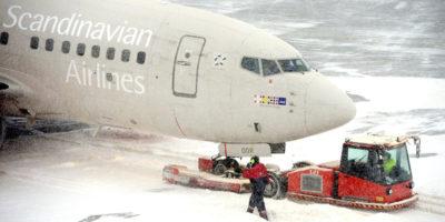La vergogna per l'aereo, in Svezia