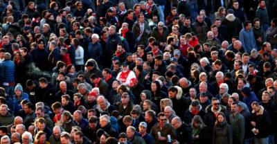 Ci sono stati scontri ad Amsterdam prima dell'inizio della partita tra Ajax e Juventus