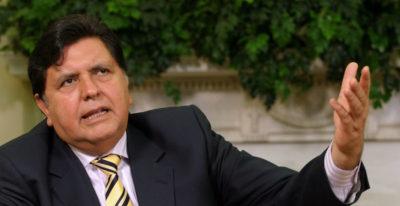 Perù: l'ex presidente si spara durante l'arresto