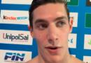 Il nuotatore italianoAndrea Vergani è risultato positivo alla cannabis in un test antidoping
