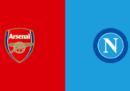 Arsenal-Napoli in TV e in streaming
