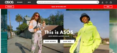 Il sito di e-commerce Asos ha cambiato le regole sui resi