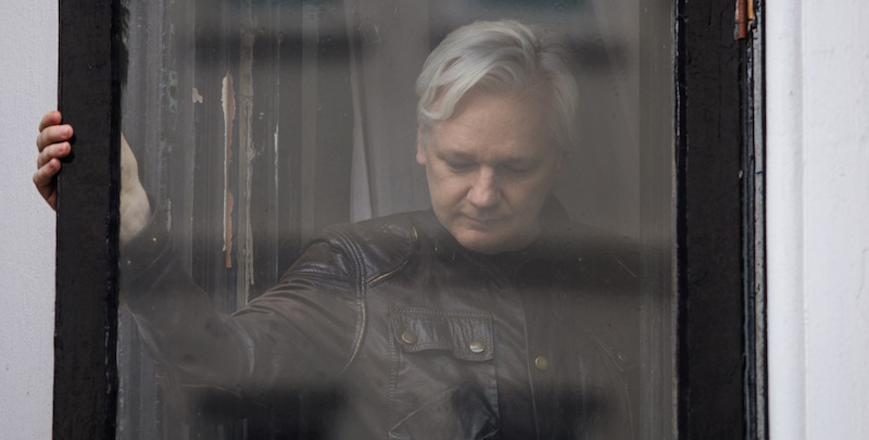 Julian Assange è stato arrestato