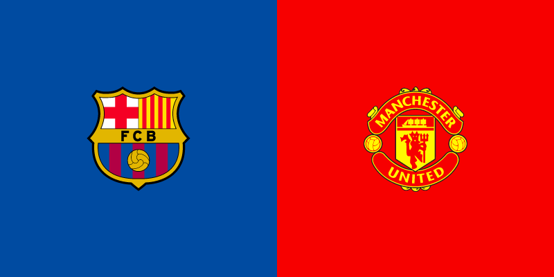 live match Champions League  FC Barcelona vs Manchester United online for free.