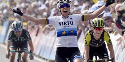 Marta Bastianelli ha vinto il Giro delle Fiandre femminile