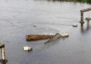 In Brasile un grosso ponte è crollato dopo che una barca si è scontrata con uno dei piloni