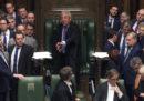 Anche il Parlamento britannico ha chiesto un rinvio di Brexit