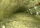 C'è un enorme ammasso di cemento nelle fognature di Londra