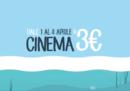 Da oggi a giovedì ci sono i CinemaDays, quei giorni in cui andare al cinema costa 3 euro