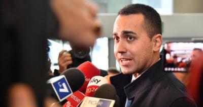 """Di Maio è preoccupato per la """"deriva di ultradestra"""" della Lega"""