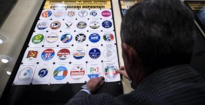 I simboli dei partiti per le elezioni europee