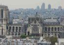 Il giorno dopo l'incendio a Notre-Dame