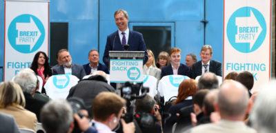 Nigel Farage ha presentato il suo nuovo partito, il Brexit Party
