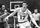 È morto a 79 anni John Havlicek, storico giocatore di basket dei Boston Celtics