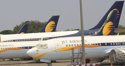 La compagnia aerea indiana Jet Airways ha sospeso tutti i voli