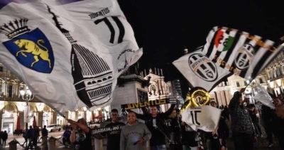 Le foto della festa per lo scudetto della Juventus