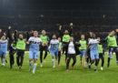 La Lazio ha battuto 1-0 il Milan e si è qualificata alla finale di Coppa Italia
