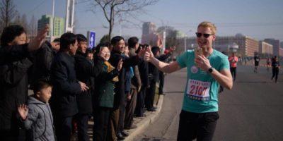Le foto della maratona di Pyongyang