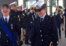 Le foto delle due marinaie che si sono unite civilmente