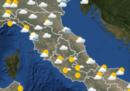 Le previsioni meteo per domani, mercoledì 17 aprile