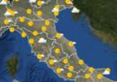 Le previsioni meteo per domani, sabato 27 aprile